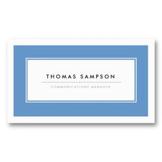 Shop Modern Typography Business Cards - Blue created by origamiprints. Logo Design Samples, Modern Typography, Business Cards, Things To Come, Small Businesses, Lettering, Personalized Items, Prints, Chic