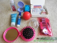 My Organized Home Life Purse Organization Part 3 Emergency Kit Period