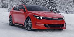 This is technically a Geneva Auto Show concept, but what you're undoubtedly looking at is Kia's new station wagon for the Europe. It's a beauty we'll never get, because in America, we buy Sorentos instead.    - RoadandTrack.com
