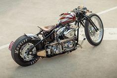 Harley-Davidson Shovelhead 'Sub Zero' S&S by Gasolina Motorcycle Tips, Chopper Motorcycle, Bobber Chopper, Motorcycle Design, Motorcycle Style, Motos Bobber, Bobber Bikes, Cool Motorcycles, Custom Choppers