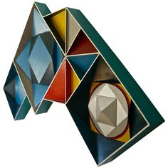 1stdibs - 3 Dimensional 60's Geometric Painting explore items from 1,700  global dealers at 1stdibs.com