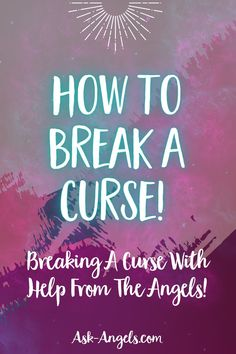 Have you been cursed? Curses are real... But with help from angels you can learn how to break a curse and stop the influence of detrimental energy. Out Of Body, Psychic Development, Angels Among Us, We Are Love, Spiritual Guidance, Prayer Warrior, Psychic Abilities, Third Eye, Intuition