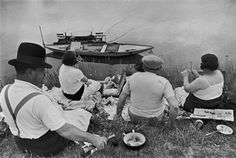 Henri Cartier-Bresson - On The Banks Of The Marne