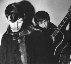 Ringo Starr & George Harrison
