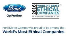Ford Named 2016 World's Most Ethical Companies   Humanitarian vehicles   KJAER & KJAER