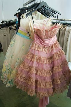 Our shopping trip on Friday found us in a boutique with lots of BJ dresses. I know someone who would love to dance in these dresses. White Homecoming Dresses, Pink Wedding Dresses, Prom, Cute Dresses, Beautiful Dresses, Party Dresses, Vintage Outfits, Vintage Fashion, Betsey Johnson Dresses