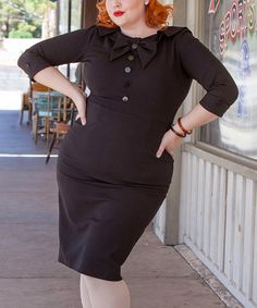 I adore the brand Tatyana for their pinup inspired clothes AND that they make them in plus sizes (usually up to 4x).