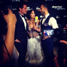 Post @DancingABC press line with Antonio!