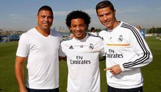 Cristiano Ronaldo y su encuentro con Ronaldo en el Real Madrid. #Depor
