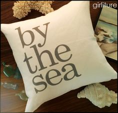 by the sea pillow custom pillows www.girliture.ca