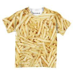 Fries Kids Tee by Beloved Shirts