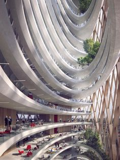 Unipol Group new headquarters, Milan, 2015 - MCA - Mario Cucinella Architects