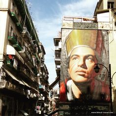san gennaro street art mural naples by Jorit Agoch || Read my blogpost here: http://www.blocal-travel.com/italy/weekend-in-campania/