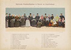 Nationale Kleederdrachten in Noord- en Zuid-Holland
