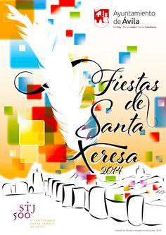 las Fiestas de Santa Teresa, que en el año del V Centenario #STJ500 #SantaTeresaAvila