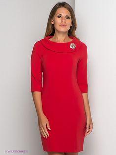 Платье AKIMBO. Цвет красный.