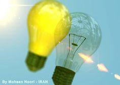 Bulb, Lamp 3d model free