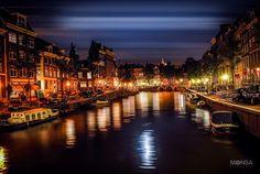 Amsterdam noctambula by  Monsa on 500px
