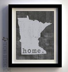 Home. Minnesota state print