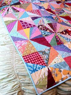 cute starburst quilt