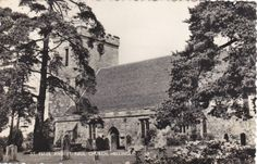 St.Peter and St Paul Church Hellingly Sussex Postcard (Sx71868)