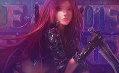 Vídeo Game League Of Legends  Katarina (League Of Legends) Papel de Parede