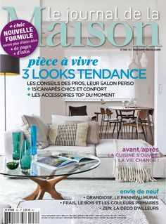 Septembre 2012 - Le Journal de la Maison n°451 :  nouvelle formule ! Nouveau look, nouvelles rubriques, découvrez vite ce qui a changé !