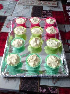 Vanília pudingos muffin Muffin, Winter Food, Sweets, Cake, Gummi Candy, Candy, Kuchen, Muffins