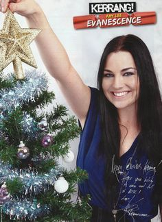 Amy Lee ☆ Merry Christmas to all