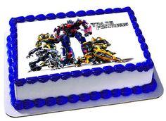 Transformadores pastel de cumpleaños fiesta de por Trendytreathouse