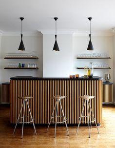 Un bar fifties - Marie Claire Maison #pourchezmoi   Photographe de Francesca Mantovani