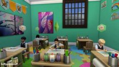 The Sims 4 has had active careers, but never active schools. This tutorial will show you how to create your own school and to visit it with your Sim child using Get Together's club system.