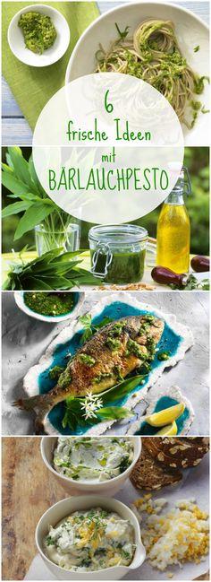 Nicht nur zur Pasta schmeckt selbst gemachtes Bärlauch-Pesto fantastisch. Hier kommen 6 gesunde Rezeptideen mit Bärlauchpesto: http://eatsmarter.de/ernaehrung/gesund-ernaehren/lieblings-baerlauchpestohttp://eatsmarter.de/ernaehrung/gesund-ernaehren/lieblings-baerlauchpesto