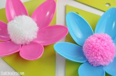 Easy Spring Flower Garland @clubchicacircle www.clubchicacirc...