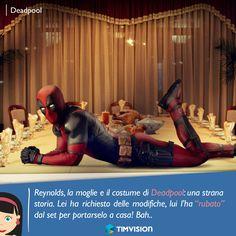 #TIMvision #Deadpool #curiosità #film #cinema