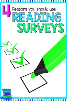 Reading interest and attitude surveys provide elementary teachers with valuable information about their students as readers. They're essential tools when getting to know your students at the beginning of the school year which eventually leads to an increase in student engagement. Find out 4 must-read reasons why you should be administering reading surveys and interest inventories with your kindergarten, 1st, and 2nd grade students! #thereadingroundup #literacy #teachingreading #readingsurveys