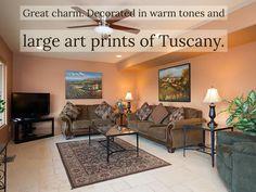 The Tuscan suite at Vista Ridge Sedona