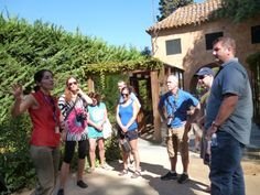 Visites guiades / Guided Tours. La Selva (Catalonia - Spain)