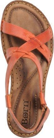 "Born Rainey Sling Sandals - Women's note how these sandal straps are ""out-stitched - you could easily make these!"