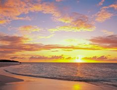 Caribbean Sunset, Anguilla  Photo by Mary Liz Austin