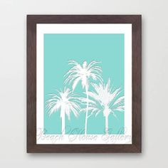 Summer Art Instant Digital Download Palms by BeachHouseGallery, $4.99