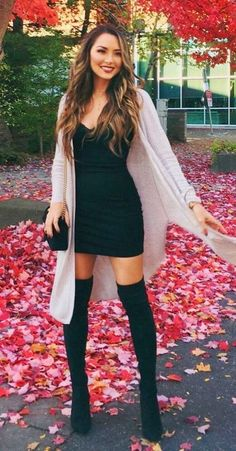 47 Stylish Winter Outfits Ideas With Heels Stylische Winteroutfits mit Heels 04 Stylish Winter Outfits, Spring Outfits, Casual Winter, Simple Outfits, Sexy Casual Outfits, Cozy Winter, Winter Party Outfits, Autumn Casual Outfits, Fall Outfit Ideas