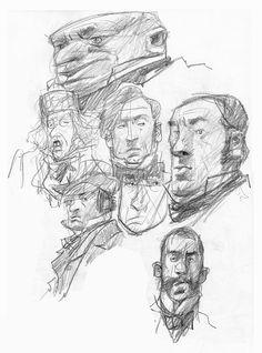 Sketchbook of Ian McQue