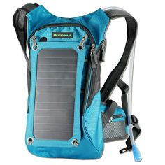 Hot 6.5W Outdoor Sports Solar Panel USB Charger Battery Power Bank Solar Charging Bag For Moible Phone Camping Travel Backpacks
