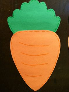 easy carrot craft!