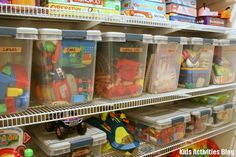 Toys, toys, toys! How to organize them all!
