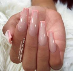 Awesome coffin nails are the hottest nails now. We collected of the most popular coffin nails. So, you dont have to spend too much energy. Its easy to find your favorite coffin nail design. Nails Top Awesome Coffin Nails Design 2019 You Must Try Gorgeous Nails, Pretty Nails, Perfect Nails, Nails Now, Pink Acrylic Nails, Gold Nail, Purple Nail, Acrylic Nails With Design, Coffin Nail Designs