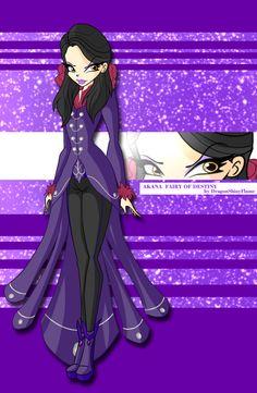 Winx: Akana Fairy of Destiny by DragonShinyFlame.deviantart.com on @DeviantArt