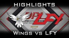 Wings vs LFY DPL 2017 Highlights Dota 2