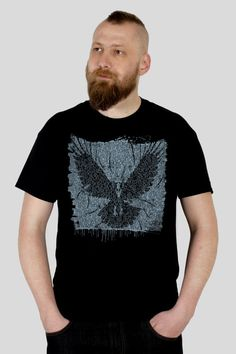 Night's Watch  A Game of Thrones inspired Men's t-shirt, screen printed by hand @GrumpyGeeks
